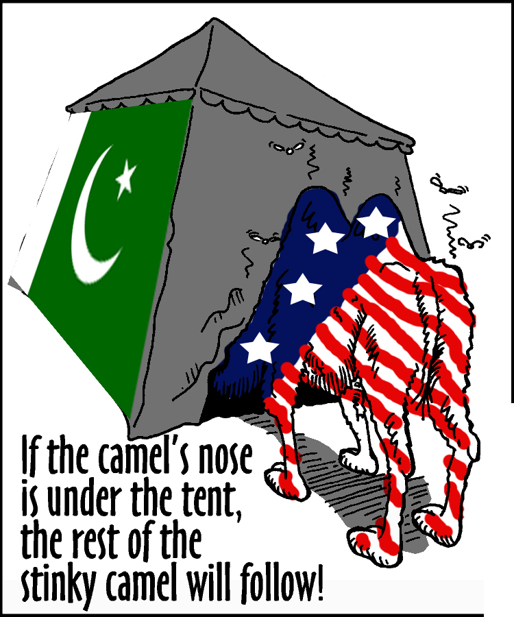 islam s camel nose under the tent